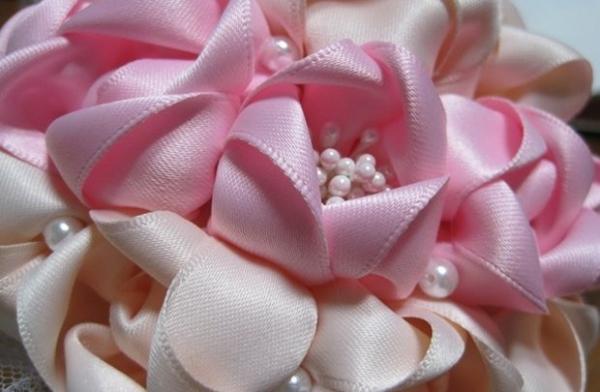 Свадебный букет из живых цветов своими руками пошаговая инструкция