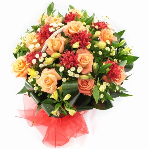 Букет цветов на свадьбу от родителей