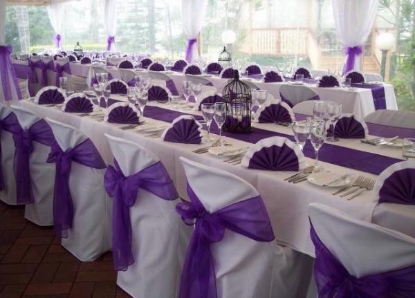 Декор зала на свадьбу фото