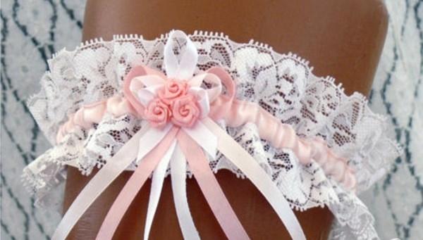 Свадебная подвязка своими руками 734