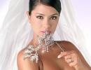 свадебная прическа пучок на средние волосы