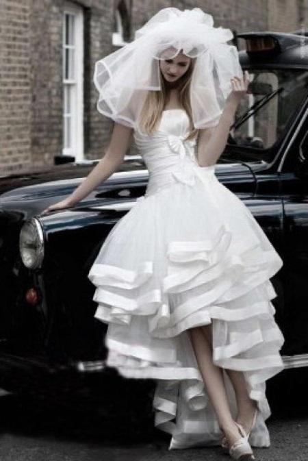 Мечты сбываются! Пышное свадебное платье со шлейфом: все