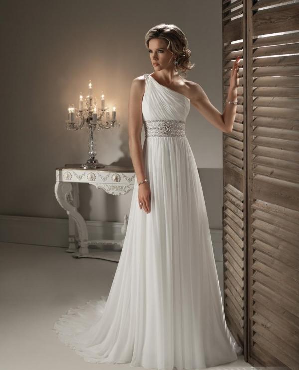 Платья на венчание греческого стиля
