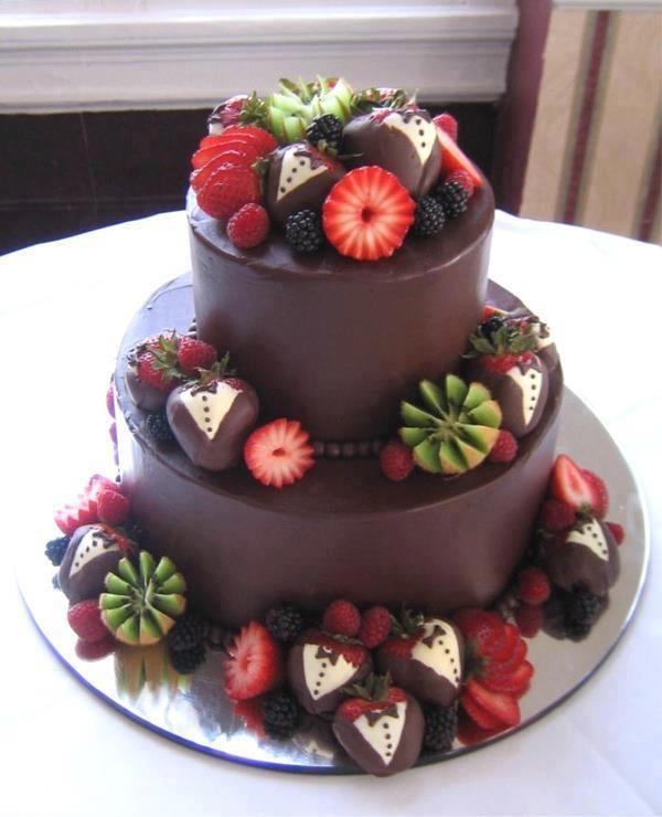 Украшение тортов иы в фото