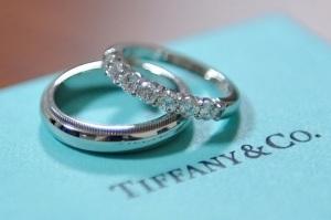 Обручальные кольца от Тиффани