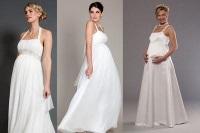 фото свадебных платьев для беременных