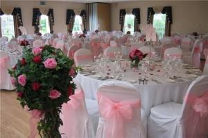 украшение свадебного зал