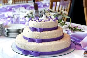 свадебный торт из мастики с фото