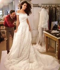 свадебное платье Амаль Аламуддин