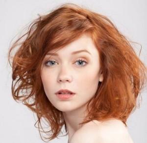 свадебный макияж для зеленых глаз и рыжих волос