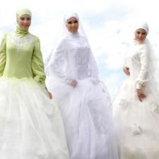 Особенности мусульманских свадебных платьев. Фото и полезные советы