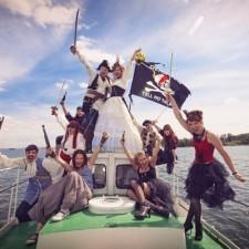 Татьяна и Сергей: наша удивительная пиратская свадьба