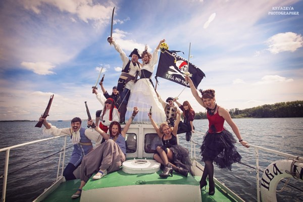 Свадьба пиратская фото