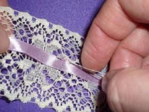 шьем подвязку для невесты