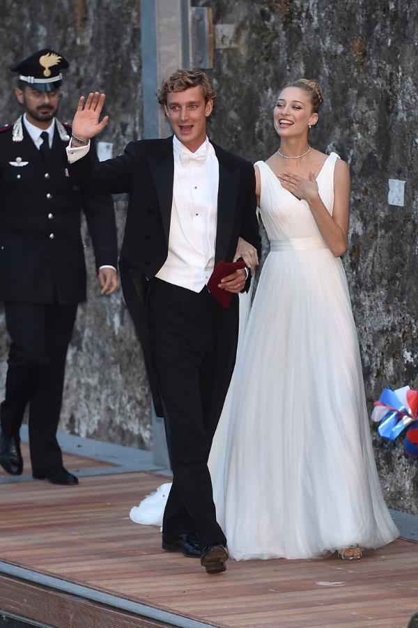 Беатрис Борромео + принц Монако Пьер Казигари