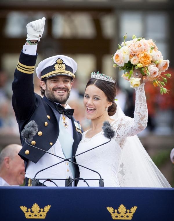 София Хеллквист и принц Швеции Карл Филипп