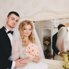 Свадьба Юлии и Владимира: новогодние чудеса