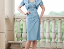 chiffon-knee-length-sheath-strapless-sweetheart-mother-of-the-bride-dress-with-free-jacket