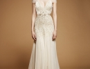 v-neck-beaded-wedding-dress