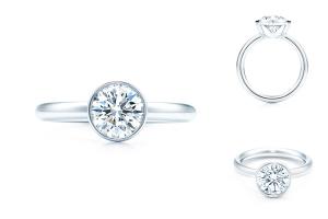 кольцо для помолвки Bezet Round