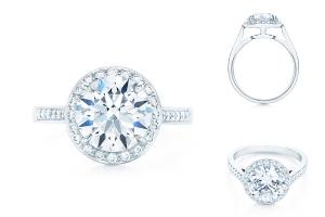 Помолвочное кольцо от Тиффани Embrace