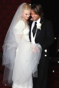 свадебное платье николь кидман