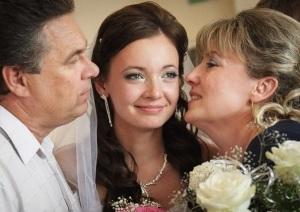 свадебное поздравление от родителей невесты