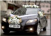 свадебная машина украшение фото