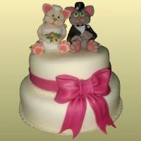 свадебный торт из мастики