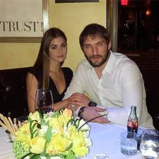 Самый богатый хоккеист Александр Овечкин и Анастасия Шубская. Свадьба не за горами