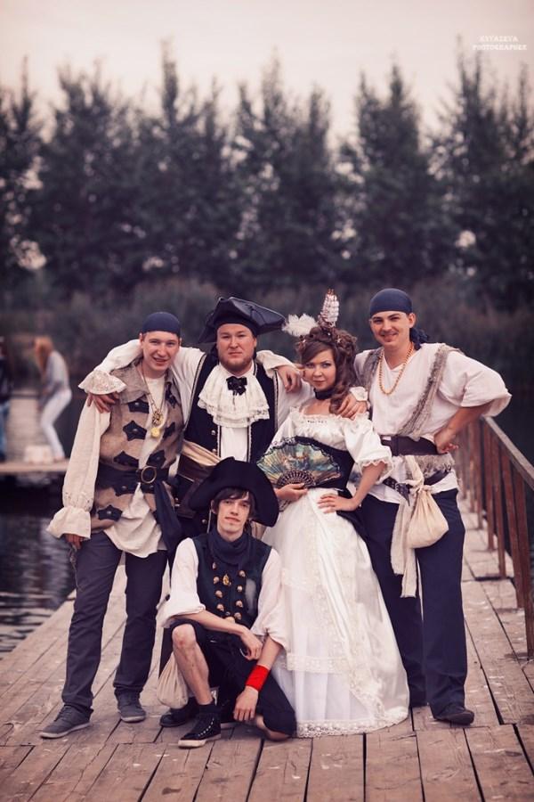 пиратский костюм на свадьбу