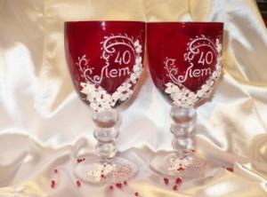 рубиновая свадьба 40 лет