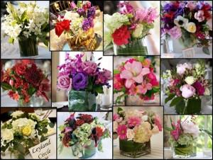 цветы на свадьбу от гостей